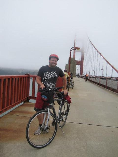 Riding across the Golden Gate Bridge in 2012 was a wonderful way to see one of the world's most famous bridges.