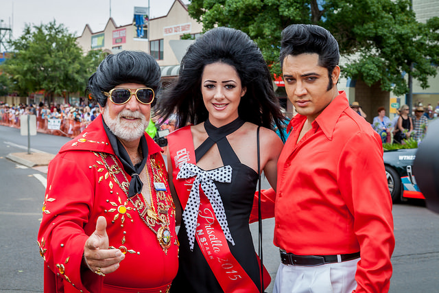 You'll only find more Elvises in Graceland or Vegas. Photo courtesy of NRMA Driver's Seat.