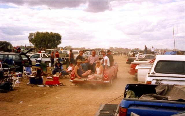 Like something out of Mad Max, the Deni Ute Muster is one of the more unique Australian festivals.