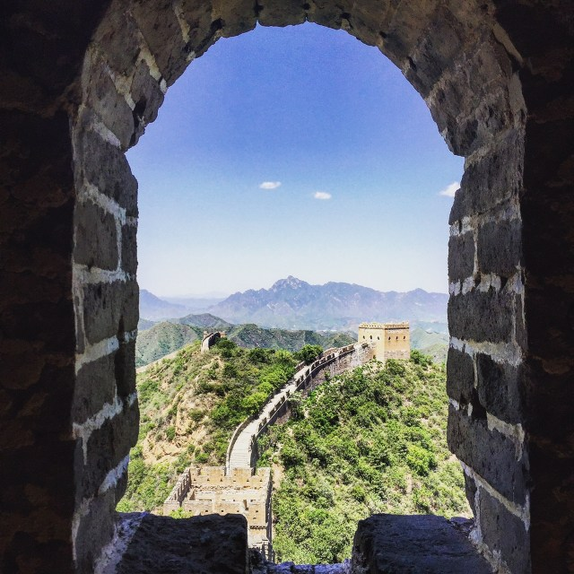 Which isn't to say the Great Wall isn't pretty spectacular...