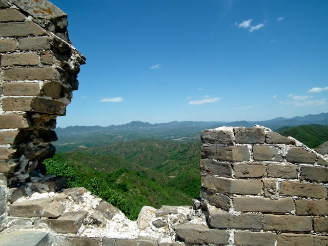 While much of the Great Wall has been restored, large portions of Jinshanling remain at their crumbly best.