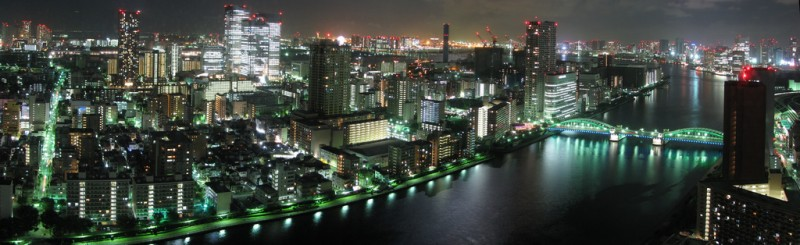 tokyo skyline night