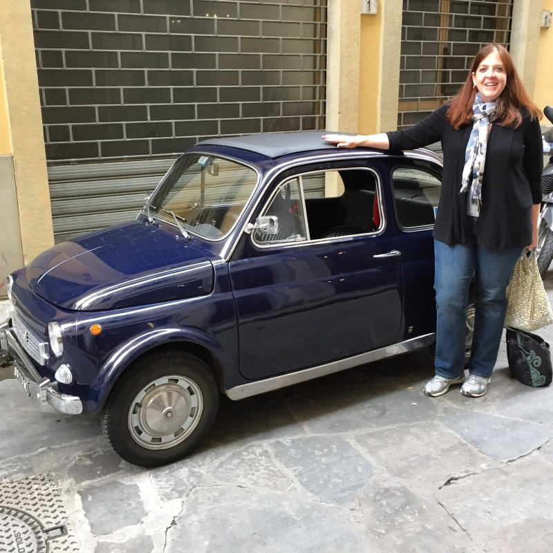 Florence fiat 500 tour