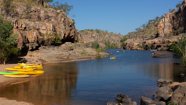 katherine gorge kayaking