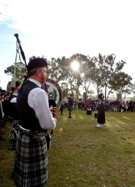 australian celtic festival pipe band