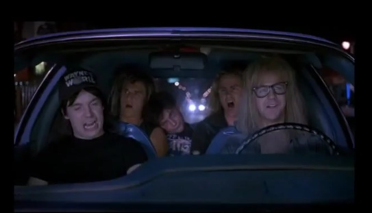 wayne's world bohemian rhapsody