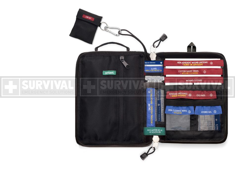traveller first-aid kit inside