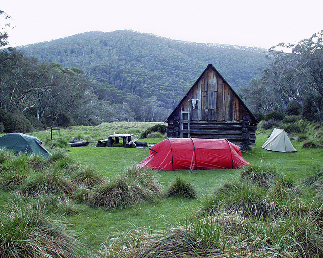 australian alps camping alpine national park