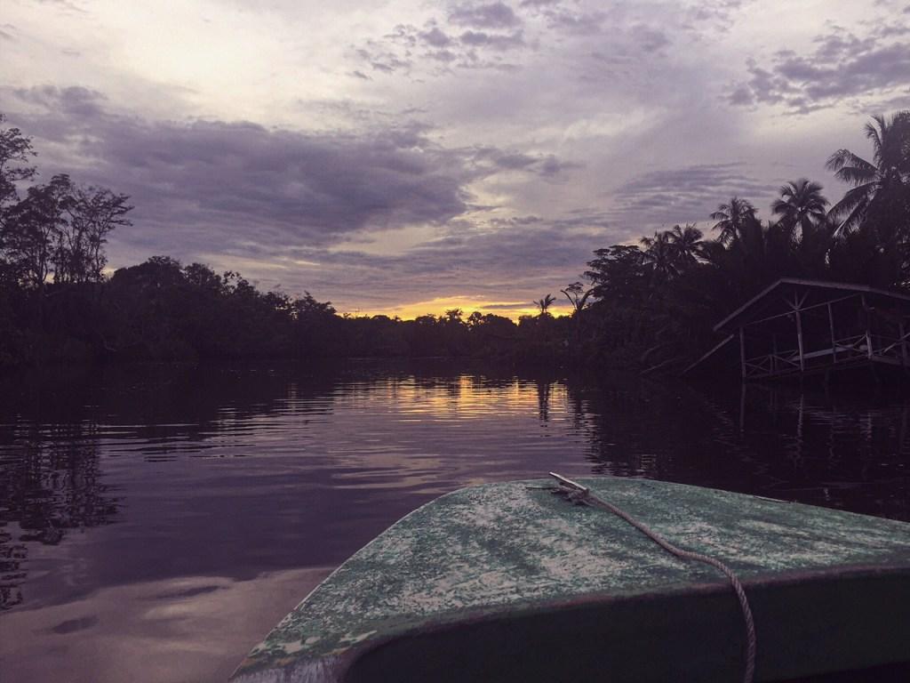 klias river cruise sunset