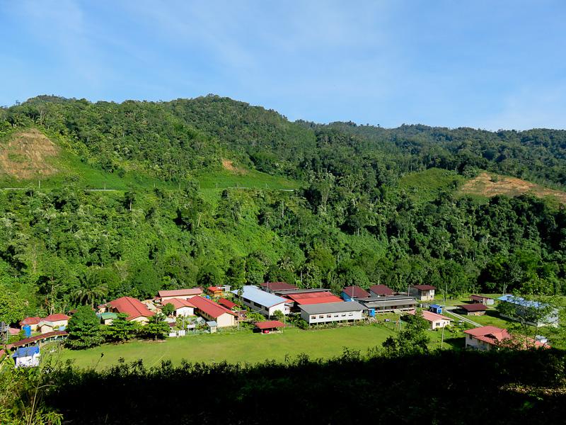 kiulu village from above