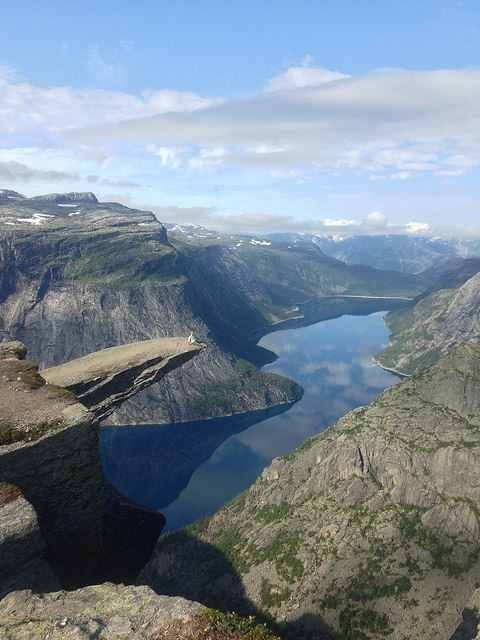 trolltunga troll's tongue