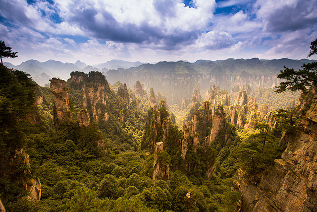 24. Zhangjiajie Avatar Mountains