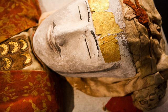 yingpan man xinjiang museum mummy urumqi