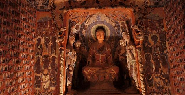 mogao caves 1000 buddhas