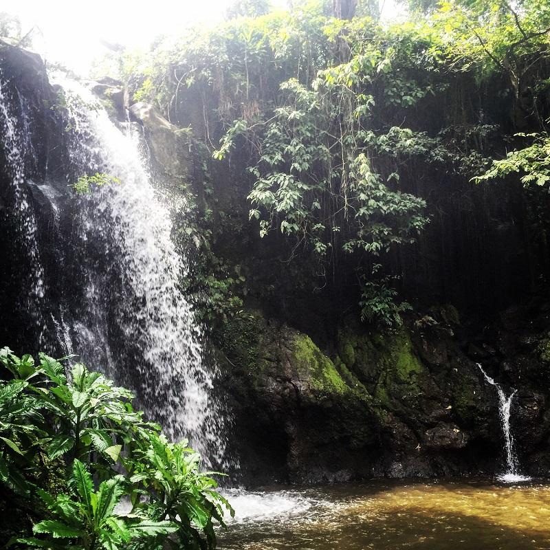 marangu waterfall tanzania