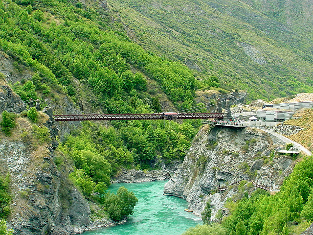 queenstown bungee kawarau bridge