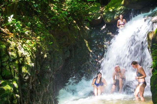 bukit lawang gunung leuser waterfall