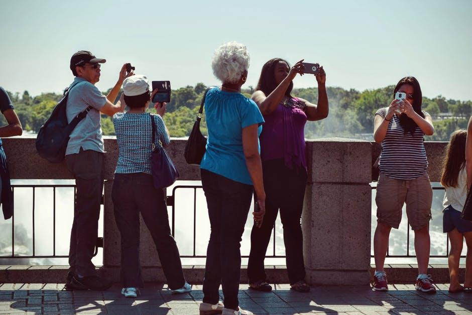 la tourists