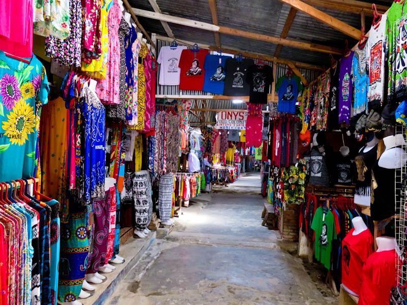 bukit lawang village shops
