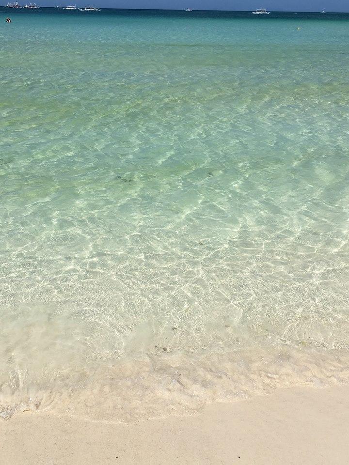 clear water boracay