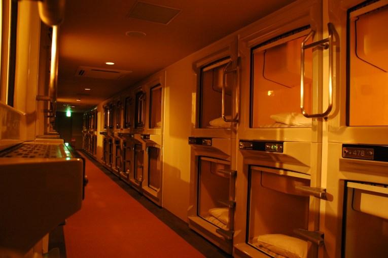 16 - Capsule Hotel Japan