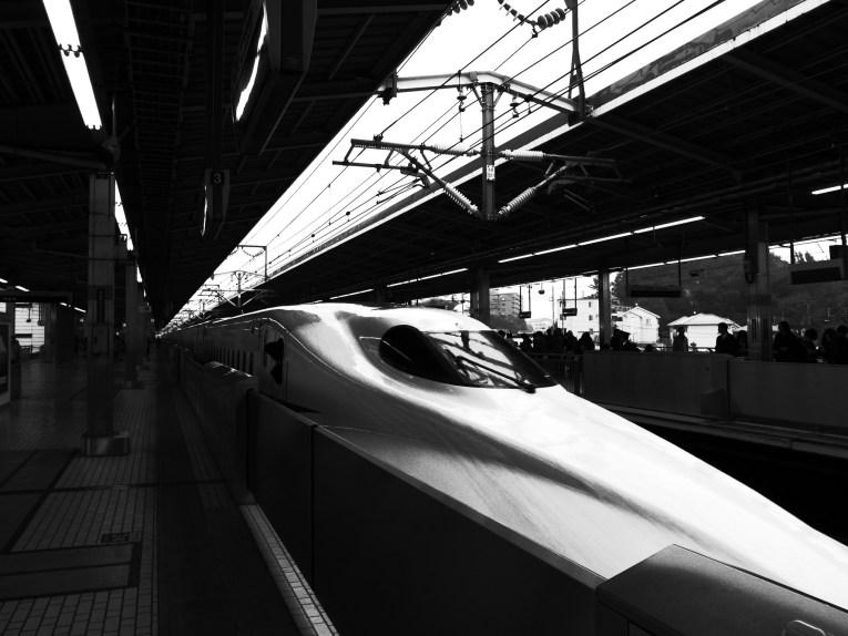 3 - Shinkansen Train Japan