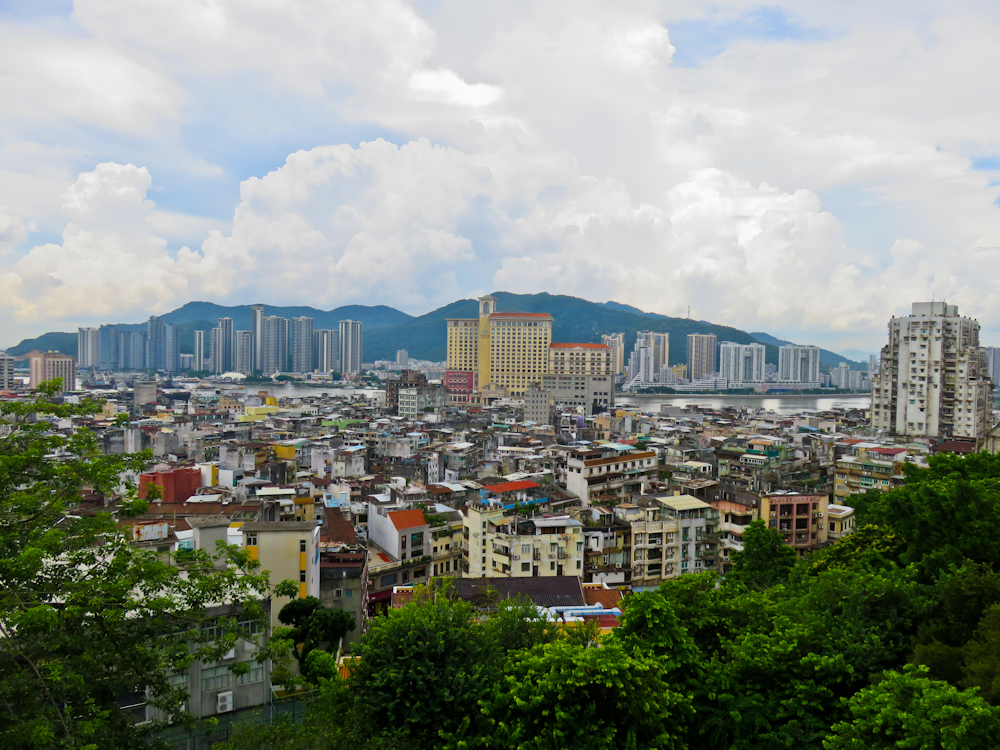 macau one day itinerary macau view guia fortress
