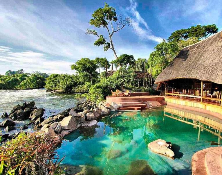 wildwaters uganda hotel lemala