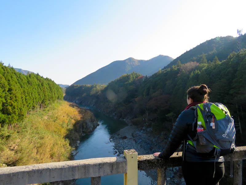 kumano kodo iseji river view