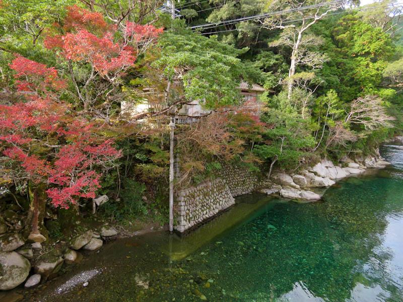 kumano kodo iseji choushi river