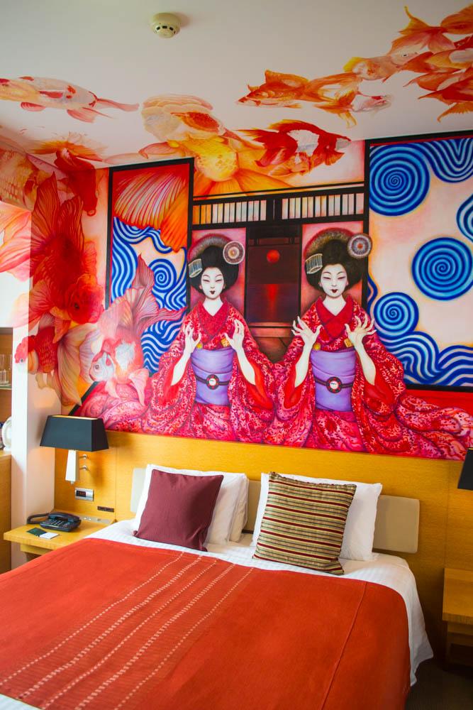 geisha goldfish room park hotel tokyo