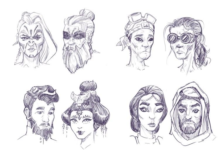 dustbowl fantasy illustration david joyce