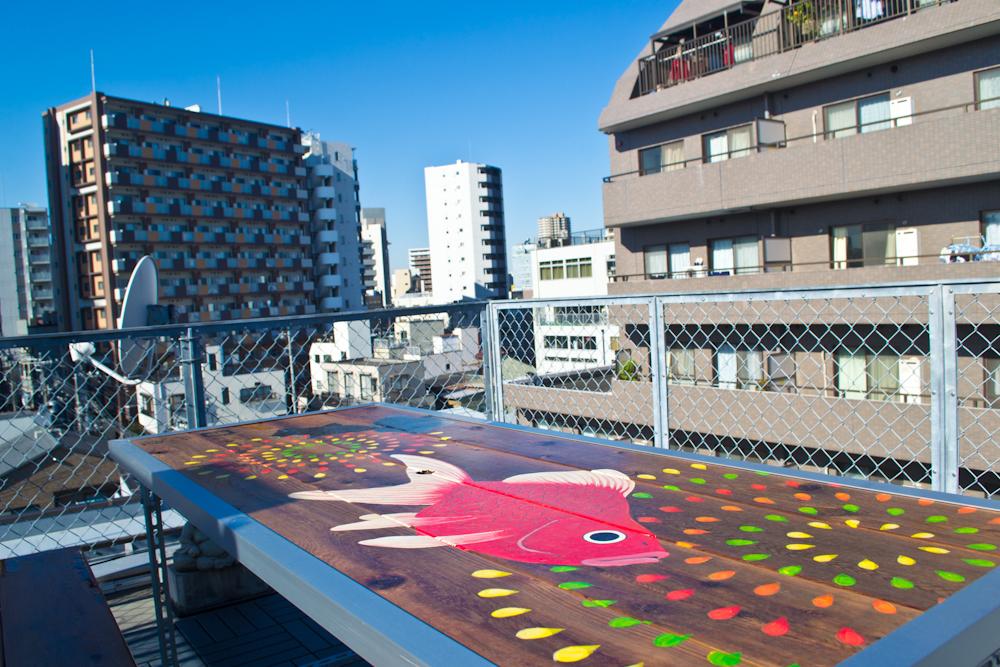 andon ryokan rooftop