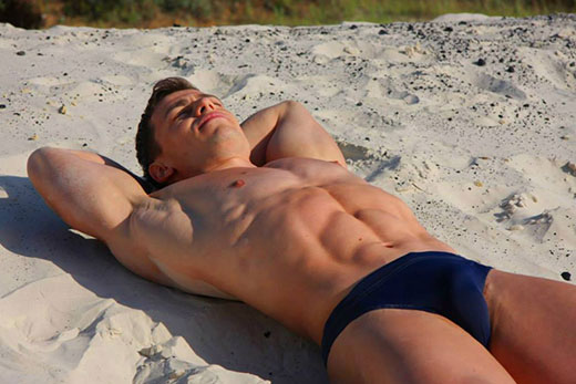 Navy Speedo