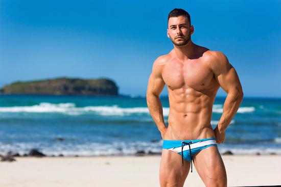 Beach Speedo Model