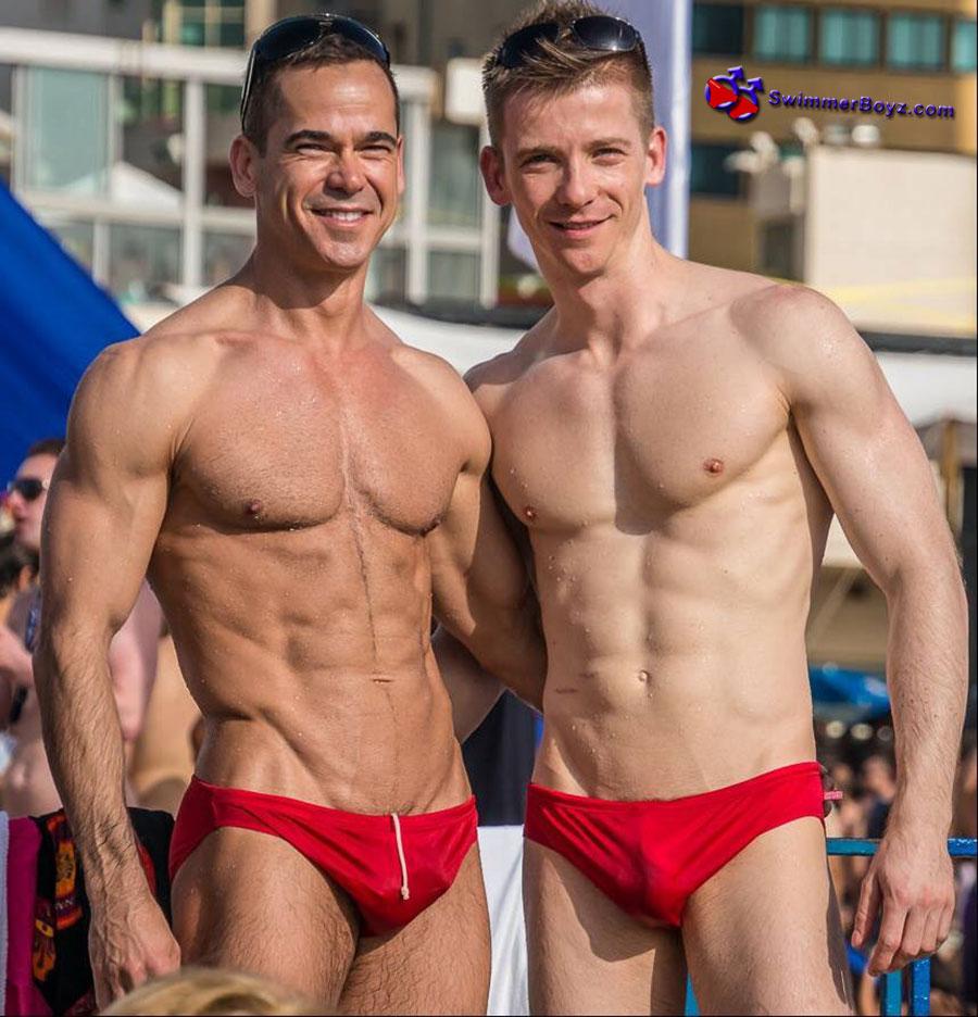 Red Speedo Gays