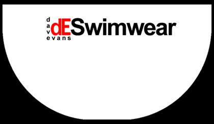 DESwimwear - White Speedos Bum