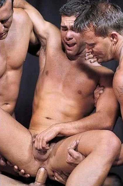 Group gay sex.