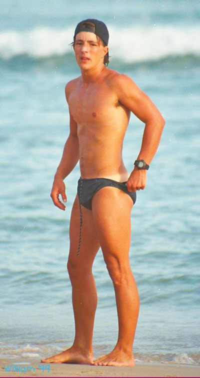 Speedo lifeguard.
