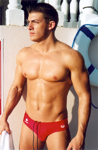 Red speedo picture.
