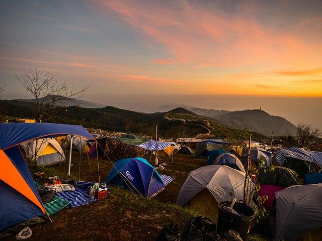 Camping as a Vacation