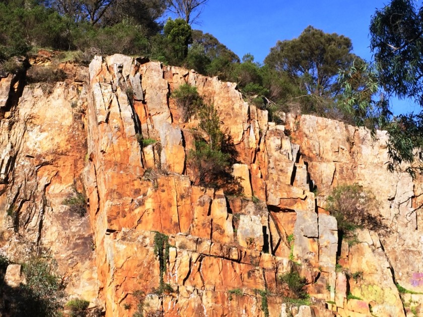ONKAPARINGA RIVER NATIONAL PARK, BAKER'S GULLY,View from Gorge Trail