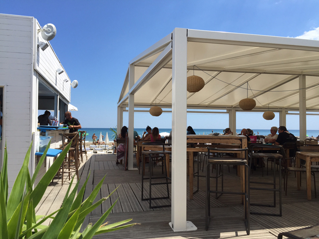Restaurant  Plage prive LE SPOT Frontignan plage  Annuaire Bassin de Thau Hbergement Ste