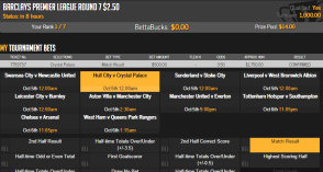 TopBetta odds display