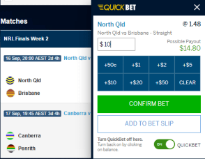William Hill quick bet