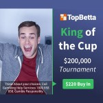 TopBetta – King of the Cup – $200,000 Racing Tipping Competition