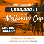 Win the Chance to Pick a Melbourne Cup Runner at 1,000,000:1 Odds