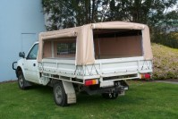 Canvas Canopy Ute & Image