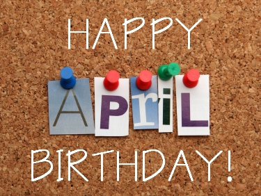 April Birthdays At ADC Austen Dooley Company