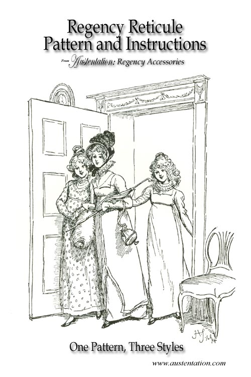 Jane Austen style Regency Reticules